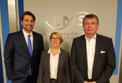 (v.l.n.r.): Uwe Conradt, Isolde Ries MdL, Prof. Dr. Stephan Ory